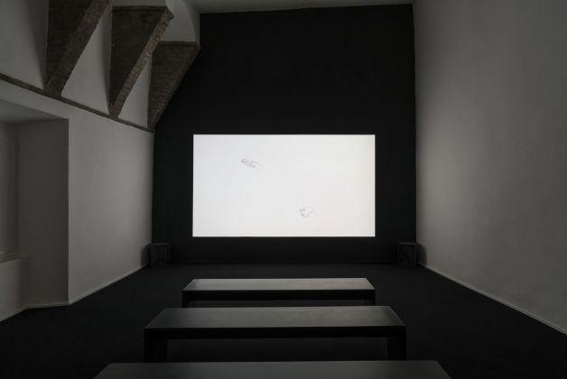 Carlos Garaicoa, Animazione rotoscopica, 2017. Still da video