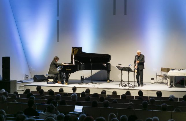 Concerto Michel Portal, © Palazzo Grassi, ph: Matteo De Fina