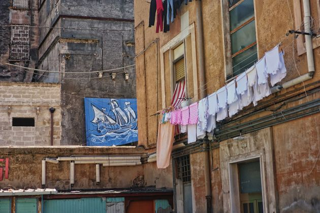 Taranto Opera Viva L'isola è in realtà un galeone