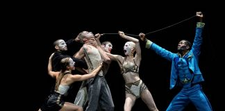 Crystal Pite & Jonathon Young, Betroffenheit. Photo © Michael Slobodian