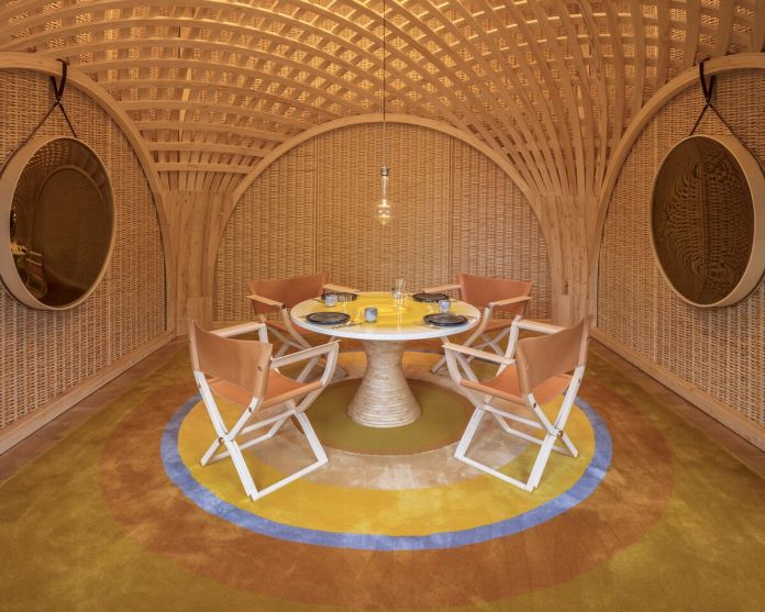 Dining Room Pavilion RDAI Architects, 2016 Galerie Philippe Gravier, preview