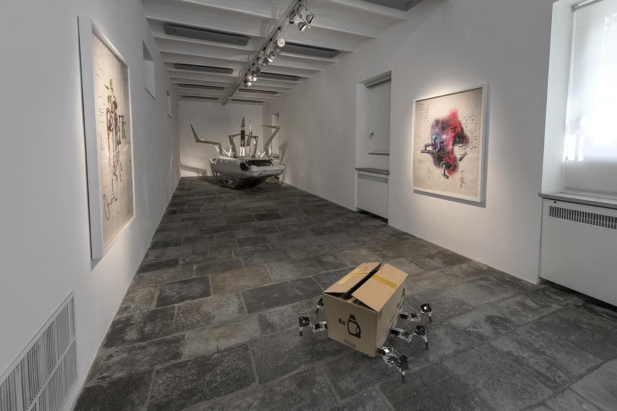 Donato Piccolo, Imprévisible, Milano, Fondazione Arnaldo Pomodoro, Foto Carlos Tettamanzi
