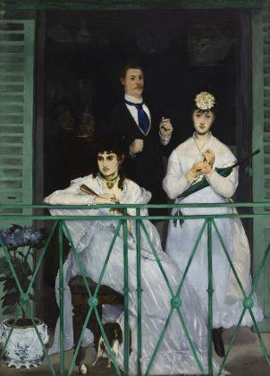 Edouard Manet, Il balcone, 1868. Musée d'Orsay, Parigi