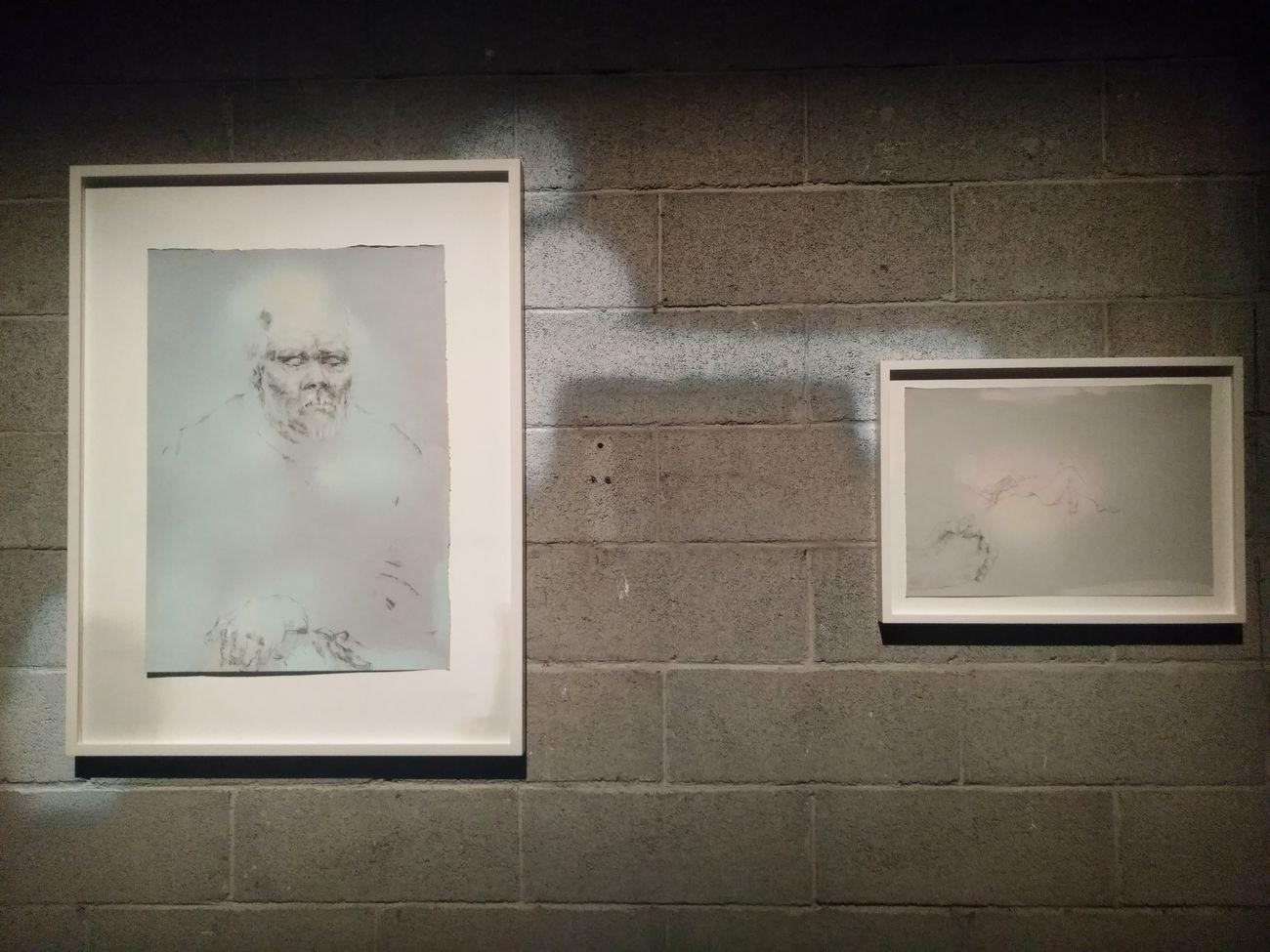 Elena Nemkova, How to draw alerted amorousness, 2018. La stanza del padre, Forlì 2018. Photo Daniele Perra