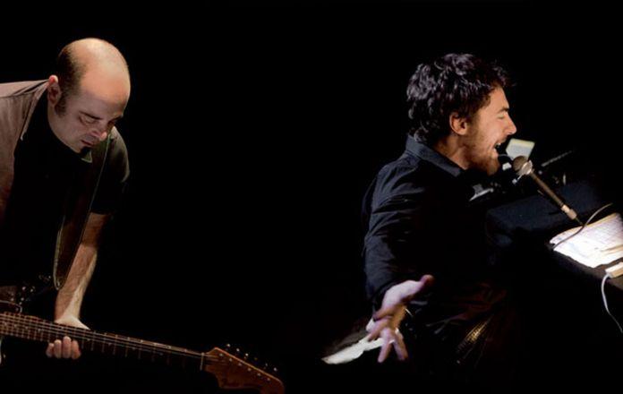 Elio Germano & Teho Teardo, Viaggio al termine della notte. Photo ACS Abruzzo Circuito Spettacolo