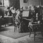 Etha Fles in haar studio in Rome, 1911, Medardo Rosso, Museum of Fine Arts, Ghent 2018