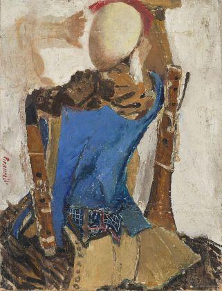 Fausto Pirandello, Natura morta con manichino, 1947. Courtesy Il Ponte