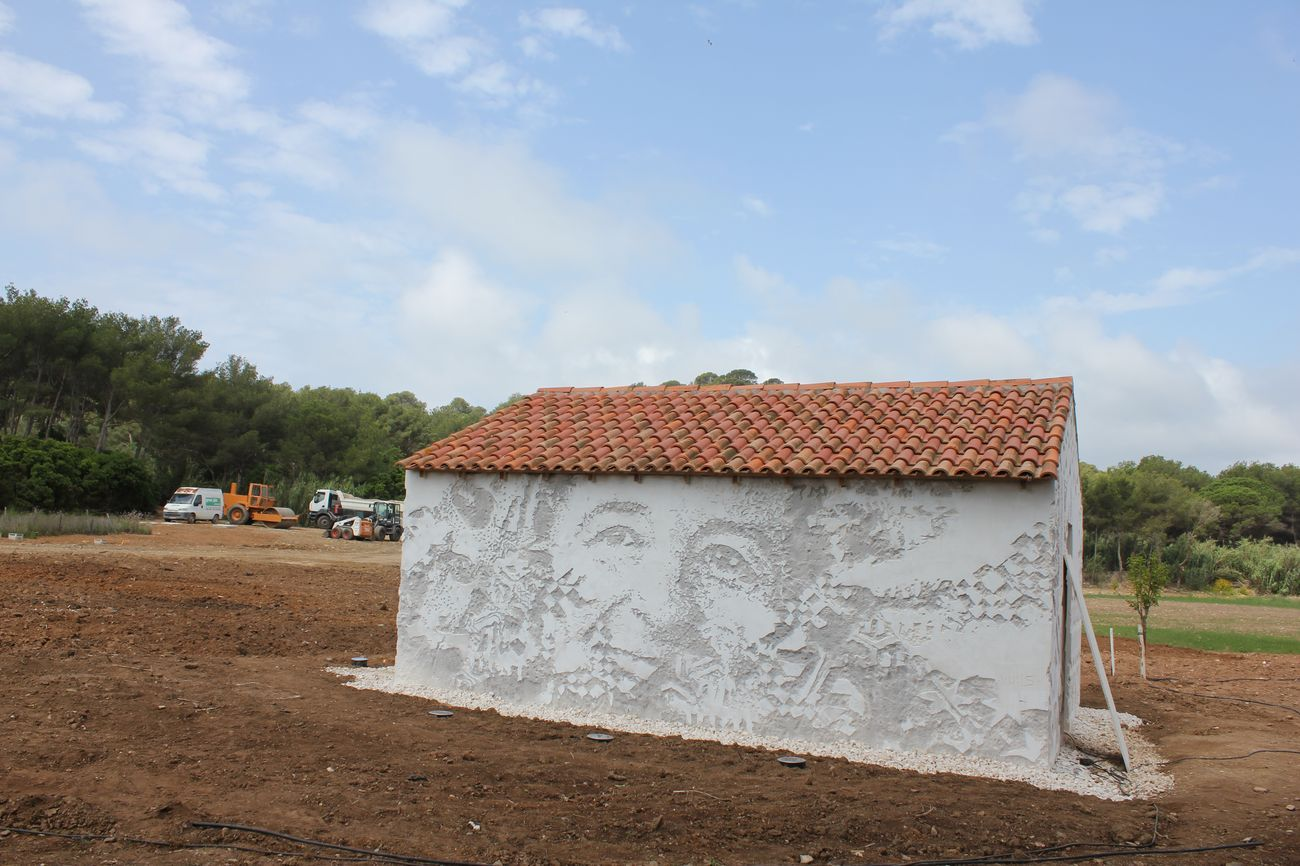 Fondation Carmignac. Alexandre Farto aka Vhils. Photo © Giorgia Basili