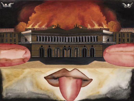 Francesco Clemente, Napoli è II, 2017-18. Courtesy CasaMadre Arte Contemporanea, Napoli