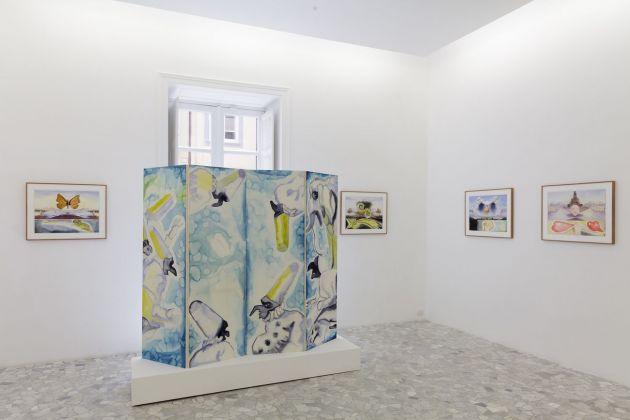 Francesco Clemente. Napoli è. Exhibition view at CasaMadre Arte Contemporanea, Napoli 2018