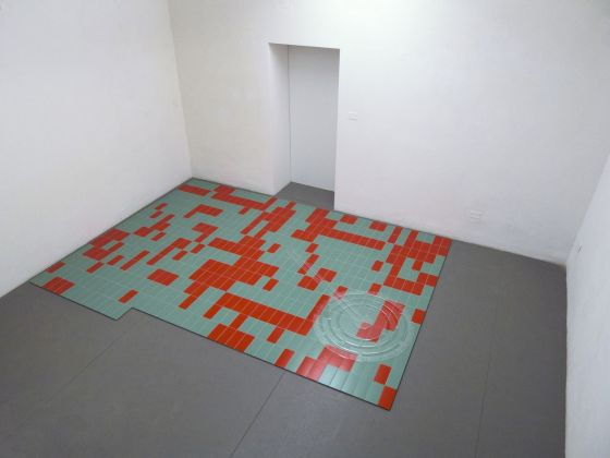 Gareth Long, From the dilettante's library (with notation), 2013, exhibition view, project space, SpazioA, Pistoia