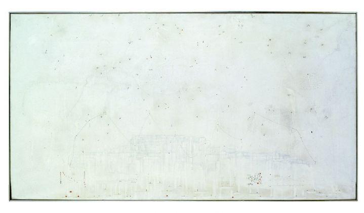 Gianfranco Baruchello, Altopiano dell'incerto, 1965. Collezione privata. Photo Ezio Gosti