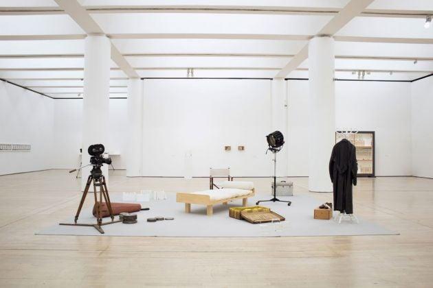 Gianfranco Baruchello. Exhibition view at MART, Rovereto 2018. Photo Mart, Bianca Lampariello