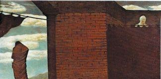 Giorgio de Chirico, L'enigma dell'oracolo, 1910