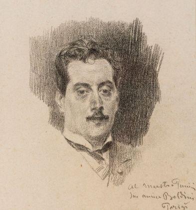 Giovanni Boldini, Ritratto di Giacomo Puccini, 1898. Fondazione Simonetta Puccini per Giacomo Puccini. Photo Ghilardi, Lucca