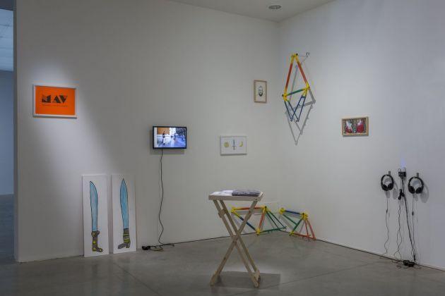 Giuseppe De Mattia, INGEGNO E INDIPENDENZA, Bologna, 2018. Courtesy l'artista & Matèria Gal lery, Roma. Installation view at MAMbo, Bologna 2018. Photo E&B Photo