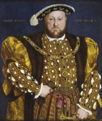 Hans Holbein il Giovane, Ritratto di Enrico VIII. Roma, Gallerie Nazionali Barberini Corsini