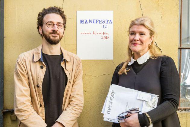 Hedwig Fijen & Ippolito Pestellini Laparelli © Guido Rizzuti & Manifesta 12