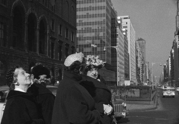 Henri Cartier-Bresson, Avenue, Manhattan, New York, USA, 1959 © Henri Cartier-Bresson _ Magnum Photos
