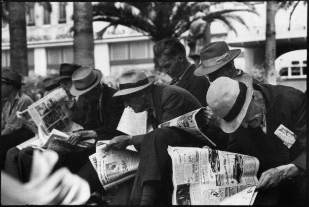 Henri Cartier-Bresson, Pershing Square, Los Angeles, USA, 1946 © Henri Cartier-Bresson _ Magnum Photos