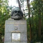 Highate Gardens, Londra. La Tomba di Karl Marx. Photo Claudia Zanfi