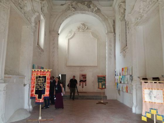 Manifesta 12, Marinella Senatore, Palermo procession, installazione presso la chiesa dei SS. Euno e Giuliano. Ph. Desirée Maida