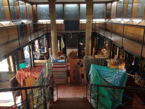 Manifesta 12, Khalil Rabah, Relocation, Orto botanico. Ph. Desirée Maida