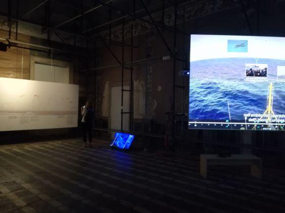 Manifesta 12, Palazzo Forcella De Seta, installation view. Ph. Desirée Maida