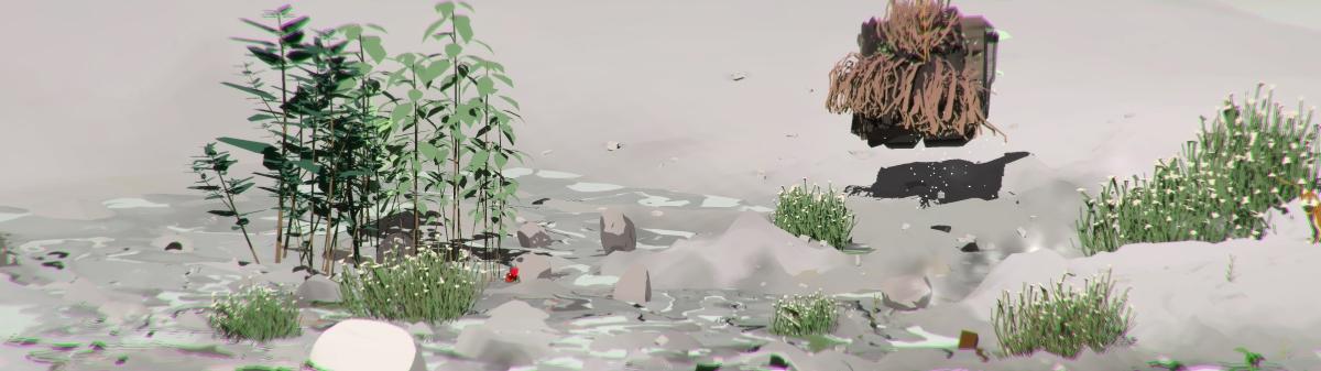 Ian Cheng, Emissary Forks at Perfection, 2015-2016, simulazione dal vivo, durata infinita, suono. Courtesy of the artist and Fondation Louis Vuitton, Paris