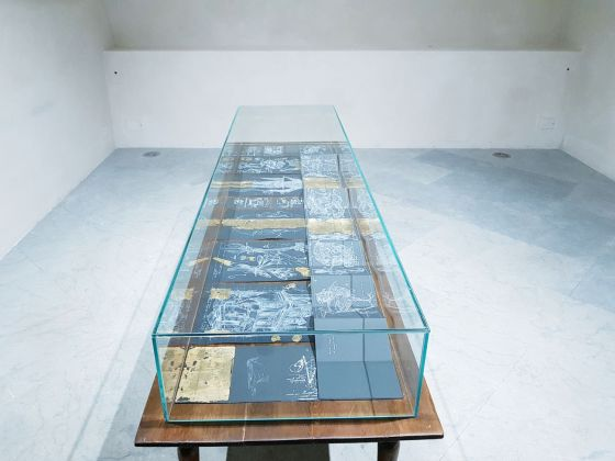 Il richiamo di Cthulhu. Installation view at Palazzo Mazzarino, Palermo 2018