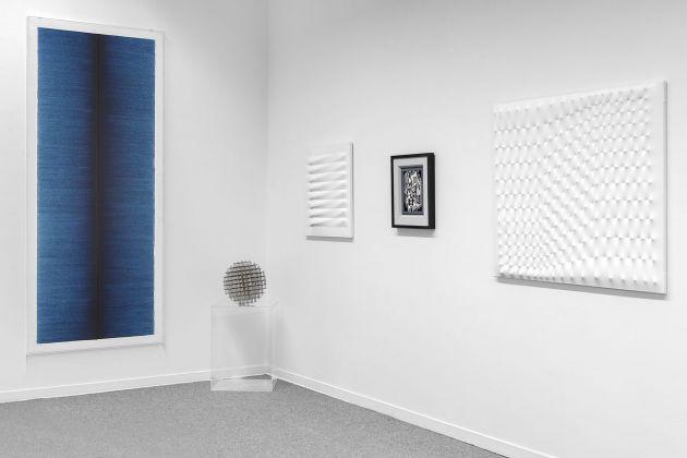 Installation view della mostra che precede l'asta del 12 giugno al Ponte, Milano 2018