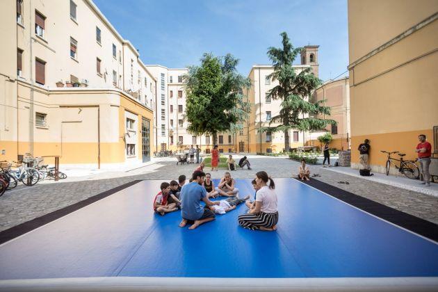 Ipercorpo, Forlì 2018. Laboratorio Acer col ballerino e coreografo Ofir Yiudilevich