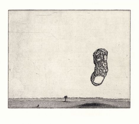 Jason Scuilla, Floating Toe, 2015