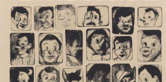 Jim Dine, 24 little Pinocchio drawings, 2010