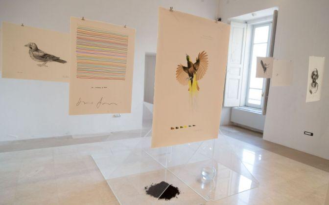 La Società della Stanchezza. Installation view at Museo Diocesano, Salerno 2018. Photo credits Bledar Hasko