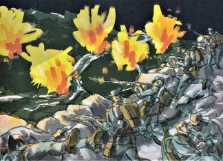 Laura Scarpa – War Painters (1915 1918). Come l'arte salva dalla guerra (ComicOut, Roma 2018)