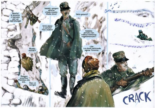 Laura Scarpa – War Painters (1915 1918). Come l'arte salva dalla guerra (ComicOut, Roma 2018)