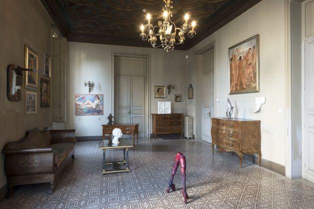 Lia Pasqualino Noto. Exhibition view at Via Dante 310, Palermo 2018