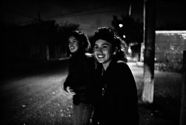 Lina Pallotta, PATTY & VICKY, 2 SISTERS, PIEDRAS NEGRAS, MX, 1990