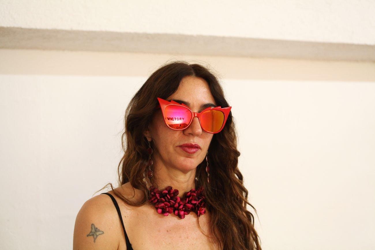 Loredana Longo. Photo Luca Scarabelli