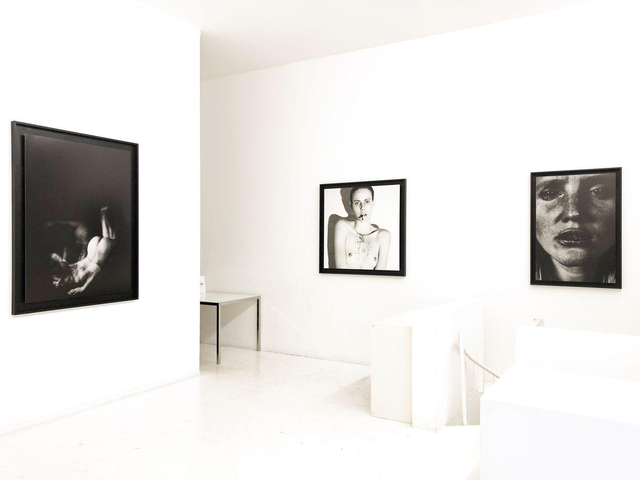 Lorenzo Sampaolesi. Dis_armonia. Exhibition view at Gorani 8, Milano 2018