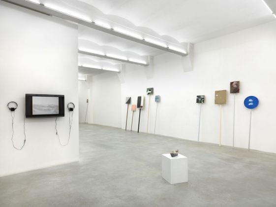 Luca Bertolo, UFO, 2013, exhibition view, SpazioA, Pistoia