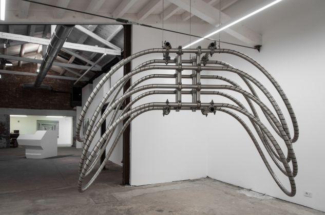 Luciana Lamothe, exhibition view at Extedend architectures, Galleria Alberta Pane, Venezia 2018, photo Irene Fanizza