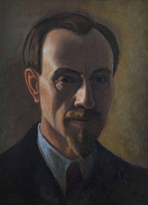 Luigi Russolo, Autoritratto, 1941, olio su tela. Photo Renato Piccolo