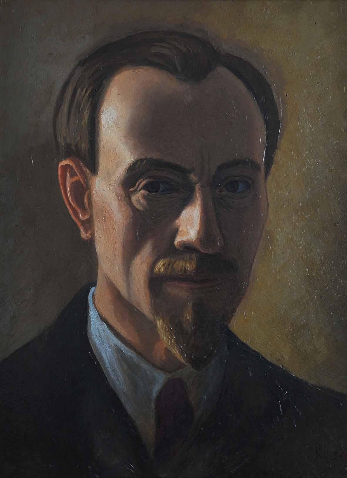 Luigi Russolo, Autoritratto. Olio su tela. 1941. Foto di Renato Piccolo