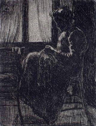 Luigi Russolo, Donna che cuce