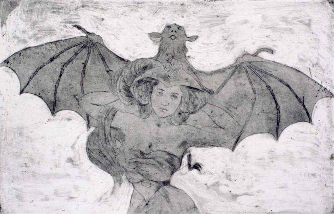 Luigi Russolo, Donna pipistrello