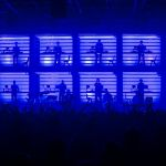 MIF - Manchester International Festival. New Order & Liam Gillick, photo Jon Super
