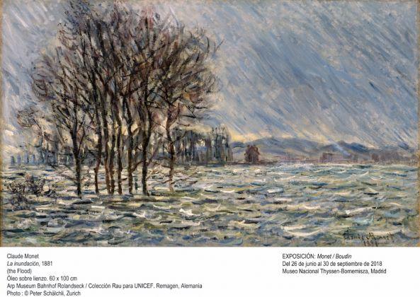 Monet, La inundacion, 1881
