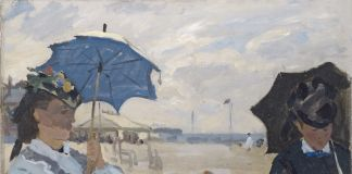 Monet, Playa Trouville